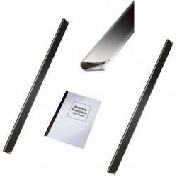 Bagheta A4 de legat documente 9 mm, 25/cutie LEITZ - negru