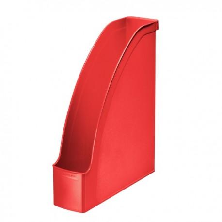 Suport vertical pentru cataloage, LEITZ Plus - rosu