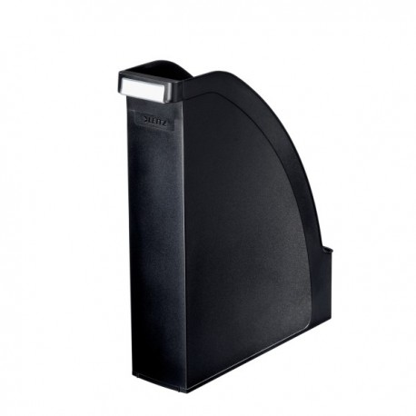 Suport vertical pentru cataloage, LEITZ Plus - negru
