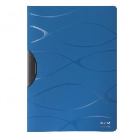 Dosar plastic cu clema pivotanta LEITZ Vivanto - albastru