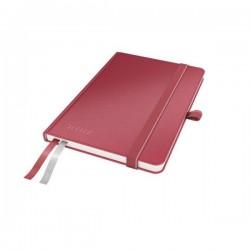 Caiet de birou A6, LEITZ Complete, matematica - rosu