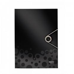 Mapa plastic cu elastic LEITZ Bebop - negru