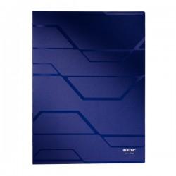 Dosar plastic de prezentare cu 40 de folii, LEITZ Prestige - albastru