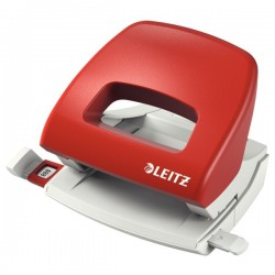Perforator 16 coli, LEITZ 5038 - rosu