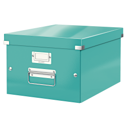 Cutie arhivare 281 x 200 x 369 mm, LEITZ Click & Store, carton laminat - turcoaz
