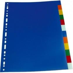 Separatoare plastic color 10cul/set, LANDS