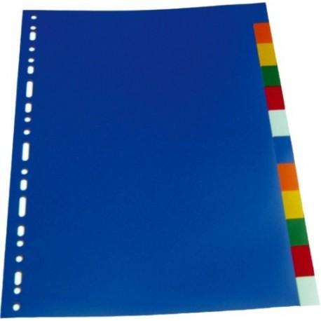 Separatoare plastic color 12cul/set, LANDS