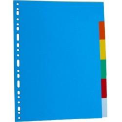 Separatoare carton color 180g/mp, 10/set, LANDS