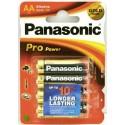 Baterii alkaline R6, AA,1.5V,4 buc/set - Panasonic