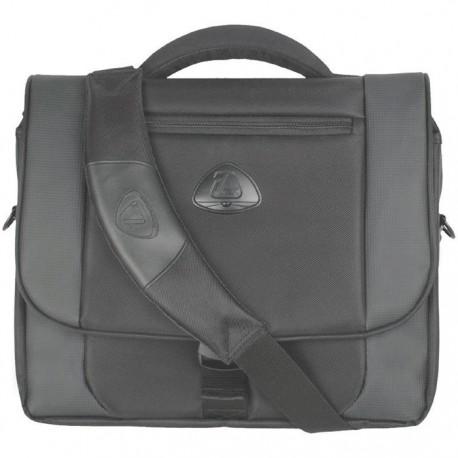 "Geanta laptop 15,4"", (heavy twill nylon 420D), D-LEX - negru"