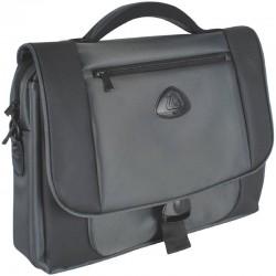 "Geanta laptop 15,4"", (heavy twill nylon 420D), D-LEX - gri"