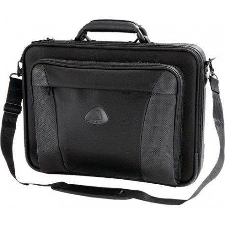 "Geanta laptop 17"", (heavy twill nylon 420D), D-LEX - negru"