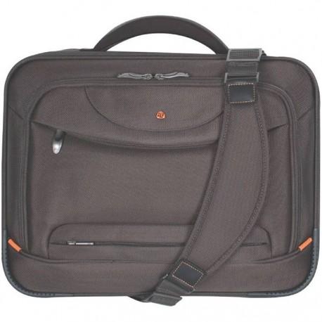 "Geanta laptop 17"", Executive (Ballistic nylon 1680D), D-LEX - maro"