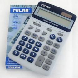 Calculator birou, 12 Digits,101 x 130 x 26 mm,MILAN