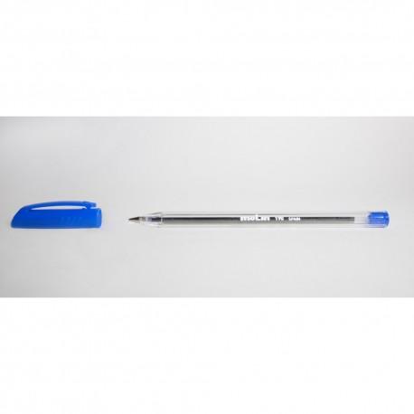 Pix unica folosinta, transparent, medium, MOLIN 190 - albastru