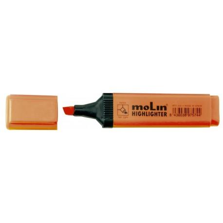 Textmarker varf lat, MOLIN - portocaliu
