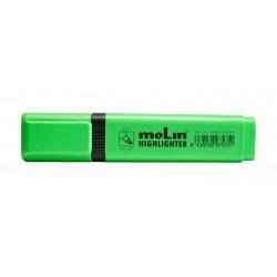 Textmarker varf lat, MOLIN - verde