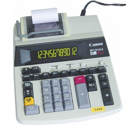 Calculator cu banda,12dig, CANON MP121DTS (CP20)
