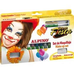 Creioane machiaj, 12 culori/cutie, ALPINO Mega Fiesta