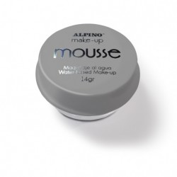 Spuma machiaj, 14gr., ALPINO Make-Up Mousse - argintie