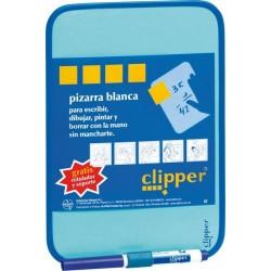 Tablita pentru scris 44 x 55 cm + marker, CLIPPER - alba