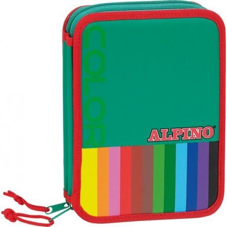 Penar mare dublu, cu fermoar, echipat, ALPINO Color