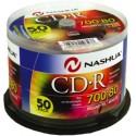 CD-R 700MB-80min (50 buc. Cakebox, 52x) Nashua