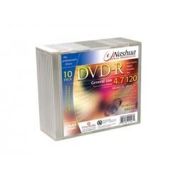 DVD-R 4.7GB Slimcase, 16x, Nashua