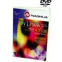 DVD-RW 4.7GB, 2x, GENERAL USE (1 buc. DVD-box) Nashua