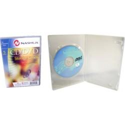 Cutie stocare 1 DVD - transparent