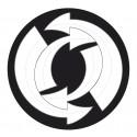 Abtibilduri roti, 2buc/set, Roller NIKIDOM - Arrows