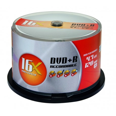 DVD+R 4.7GB (50 buc. Spindle, 16x) ALDI