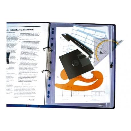 Folie protectie documente cu fermoar, A4, HFP