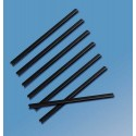 Sina metalica structura panzata, A5, 91-120 pag.(13 mm) 5 buc/set, Metal -BIND OPUS - negru
