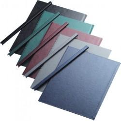 Sina metalica structura panzata, A4, 91-120 pag.(13 mm) 5 buc/set, Metal -BIND OPUS - albastru