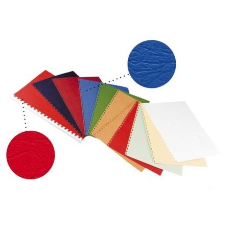 Coperta carton imitatie piele, A4, 250g/mp, OPUS-Albastru