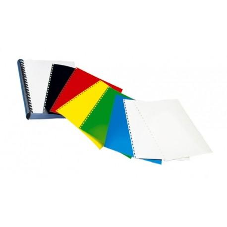 Coperta carton lucios, A4, 250 g/mp, OPUS-Albastru