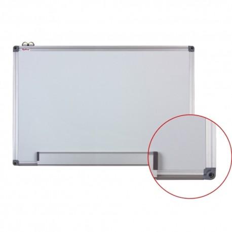 Tabla alba magnetica cu rama din aluminiu, 45 x 60 cm, Optima