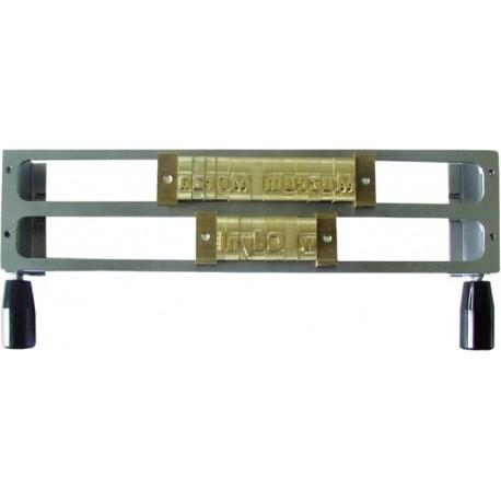 Rama metalica sustinere text (2 randuri de 9 mm) OPUS