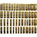 Set litere cu font latin standard, 9 mm, 34 litere/set, OPUS