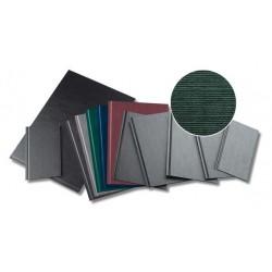 Coperti rigide A4, structura panzata, 20 buc/set, Metal-BIND OPUS Classic- albastru