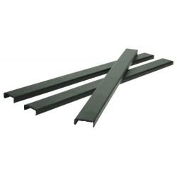 Sina metalica A4, 15-35 pag.(20 mm), 25/set, Metal -BIND OPUS - negru