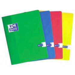 Caiet A4, OXFORD School, 36 file - 90g/mp, liniat stanga - matematica
