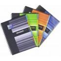 Caiet cu spirala A4, OXFORD Student Organiserbook, 80 file-90g/mp, coperta PP - mate