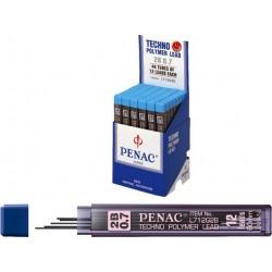 Mine pentru creion mecanic 0,7mm, 12/set, PENAC - 2B