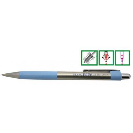 Creion mecanic metalic, cu rubber grip, 0,5mm, PENAC Pepe - accesorii bleu