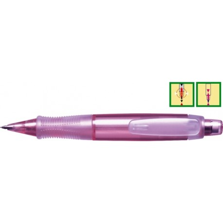 Creion mecanic PENAC E-Grip Pearl ( 0,5mm ) - Cherry pink
