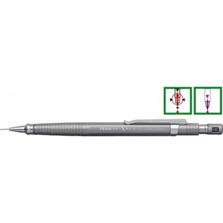 Creion mecanic profesional ( 0,3mm ) NP-X - Argintiu