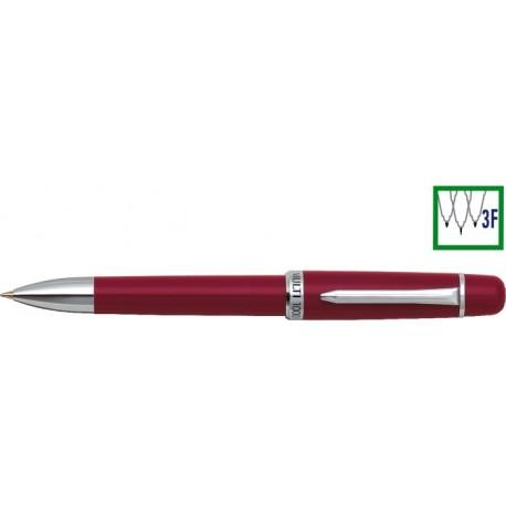 Pix cu doua culori / creion mecanic 0.5mm, PENAC Multi 1000 - corp rosu
