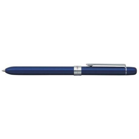 Pix multifunctional de lux PENAC Slim, 2 culori + creion mecanic 0.5mm, corp bleumarin -accesorii AG